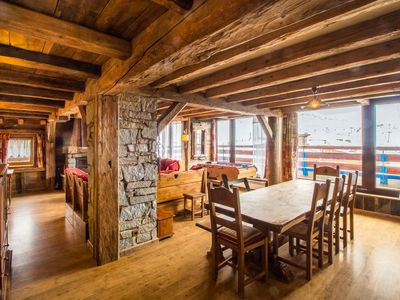 Photo for Apartment 10 people type chalet (120 m² - 4 bedrooms) in Arc 2000