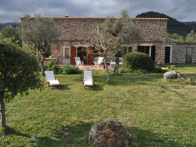Photo for Stone house in Campanet Valley, in the countryside.