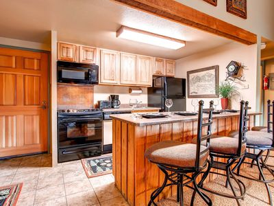 Photo for 7th Night Free! Penthouse Condo, Mountain Views, WiFi, Gas Grill, Garage Parking