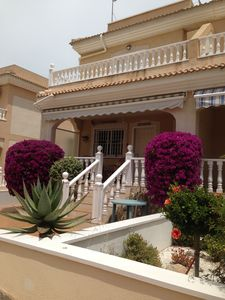 Photo for Luxury House with private roof terrace close to beach, town and golf. Wi-Fi,