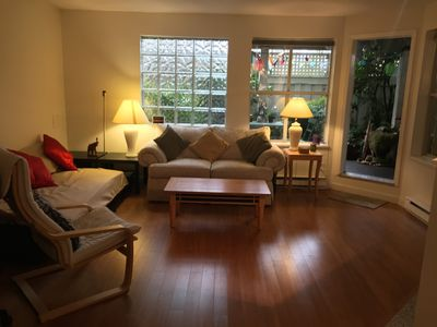 Photo for 28 May - Near Everything - Spacious 1BR w/Garden