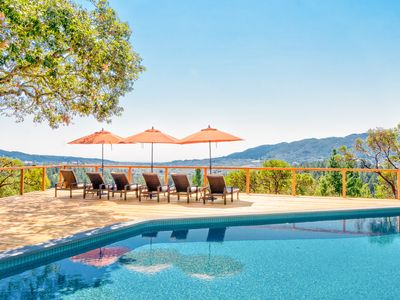 Photo for 1BR Country Cottage with Vineyard & Valley Views—Hot Tub & Pool
