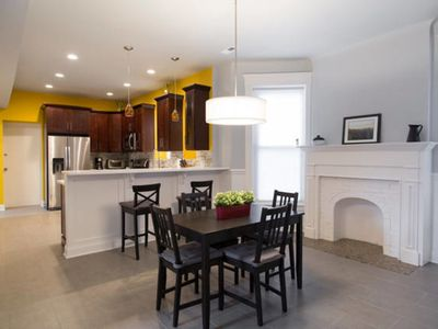 Newly Renovated 4BR/2BA Condo in Historic Greystone Building in Hyde Park