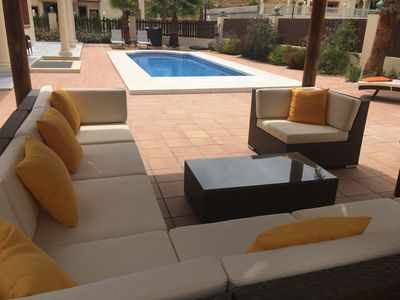 Photo for Costa del Sol - Coin. Luxury 4 bed Villa. Private Pool, & Hot Tub. Sleeps 8
