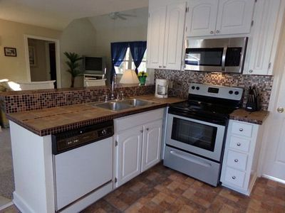 Photo for Modern Beach Home on Quiet Street with Private Beach Access Nearby!