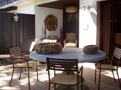 Photo for Prestigious apartment with spa - 250 m to the beach - 50 m to stores - Peaceful