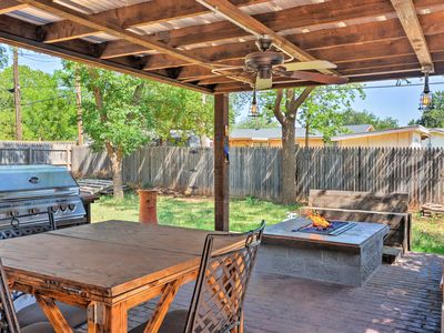 Photo for Rustic Farm Home w/Patio, Grill & Fire Pit by TTU!