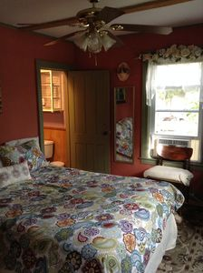 Photo for Private  Slp up to 7, 2-queen-1full-1 futon bed,  2 pri-baths/2 entrances
