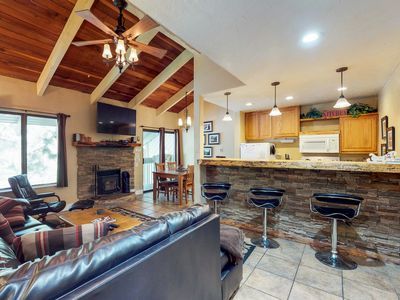 Photo for NEW LISTING! Modern condo w/ shared pool & hot tub - near local attractions