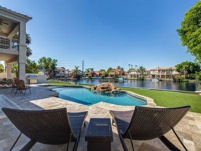 Photo for Huge Luxury Waterfront Basement Home w/ Theater and Game Room & Sparkling Pool