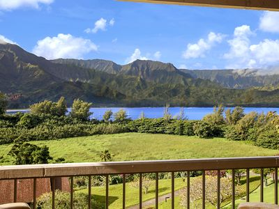 Photo for Hanalei Bay Resort #4304 & 4305: Hanalei Bay Views with AC and Beach Path!