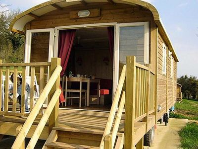 Photo for Camping Au Soleil d'Oc **** - Trailer 3 Rooms 4 People