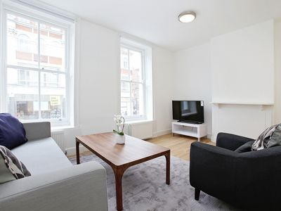 Photo for SOHO - BLOOMSBURY AREA 2BR FLAT - MINUTES FROM THE BRITISH MUSEUM!