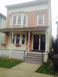 Photo for Quiet Downtown Hudson with Rocking Chair  Porch