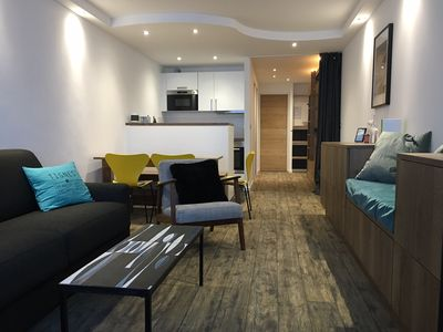 Photo for 2 room apartment renovated in 2017- Les Grandes Platières- Val Claret center