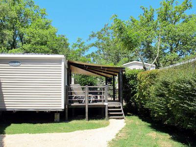 Photo for Vacation home Camping Caravaning (AAR353) in St-Alban-Auriolles - 6 persons, 2 bedrooms