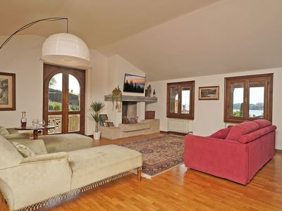 Photo for VALLE FIORITA 42 - Lake View Apartment with private garden