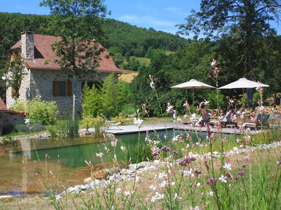 Photo for Gîte Quercy, contemporary charm, great comfort, garden with swimming pool