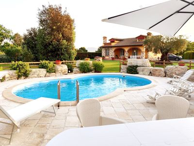 Photo for Tuscan Villa with private swimming pool