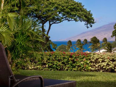 Photo for Ocean View Maui Condo Right Across from the Beach! 1 of 6 larger MK condos.