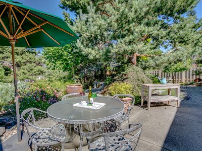 Photo for Bainbridge Island - Couples Retreat.  Private Entrance, Walk to Village, Harbor