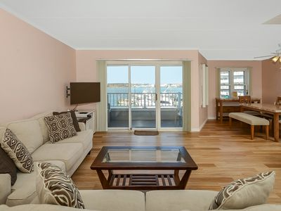 Photo for Direct Bay front 2 Bedroom condo with just a short walk to the famous Ocean City boardwalk!