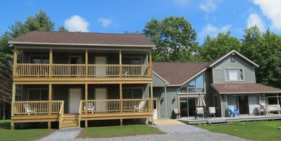 Photo for 10 BR/8 BA, Hot Tub, Snowmobiling, Skiing, Water View