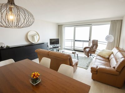 Photo for Apartment C227 with fantastic views of the sea, beach and dunes in Middelkerke