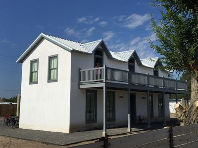 Photo for Historic Two Story Adobe Home In The Heart Of Marfa