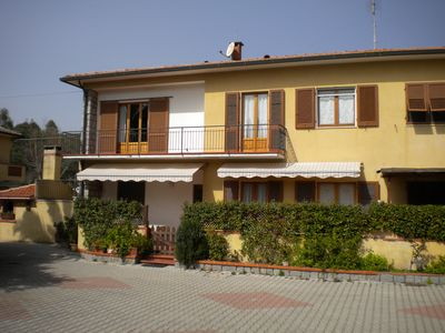 Photo for Three-room apartment in Marina di Campo- 300m from the center and beach, p. car