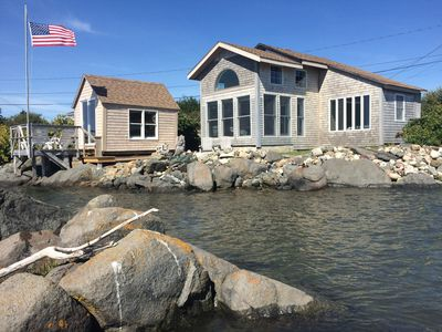 Photo for Beautifully Renovated Ocean Front Cottage With Spectacular Views..
