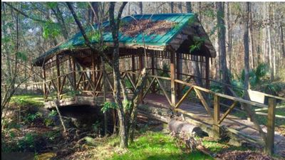 Photo for RUSTIC LOG CABIN BY STREAM 3BR/2BA