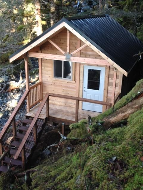 gateway in glacier to cabins rental hoonah vacation hideout rentals bay cabin alaska
