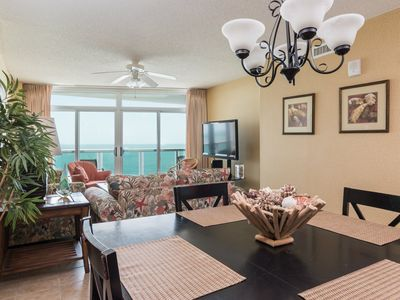 Photo for Crescent Keyes -  803 This is a light, bright comfortable condo right on the ocean!