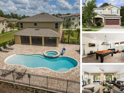 Photo for W245- 8 Br Wheelchair Accessible Reunion Pool Home