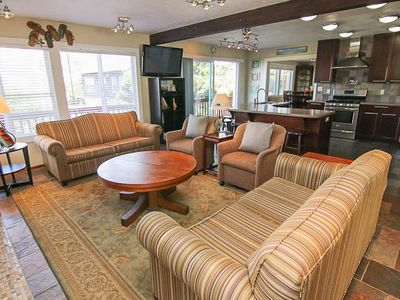 Photo for Luxury Home with Game Room, Hot Tub and Easy Access to Roads End State Park!