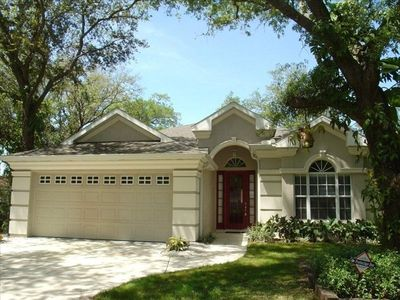 Photo for Upscale 4 Bed Private Heated Pool Home-Near Siesta Key Beach.