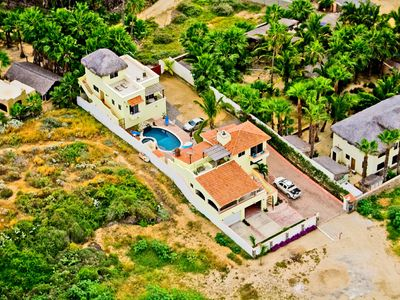 Photo for Pescadero Palace 3BR Guest House with Pool, Jacuzzi, and in front of Surf!