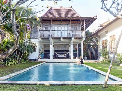 Photo for Walk to the beach! Central Canggu 5bed