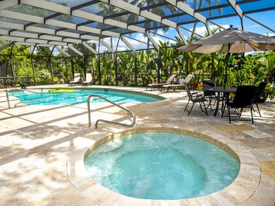 Photo for Marco Island Estate 3 BedroomWaterfront Pool Home with Dock