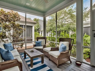 Photo for Gorgeous home in Watersound West Beach, short walk to pool & beach: Indigo Moon