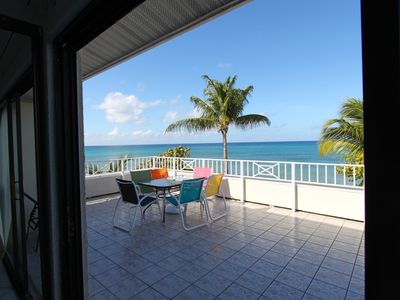 Photo for Beach front Cayman Island Condo