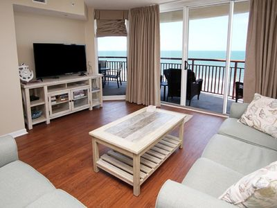 Southshore Villas #1007, 4 BR Ocean Front w Indoor/Outdoor Pool, Lazy River, Kiddie Pool and Hot Tub