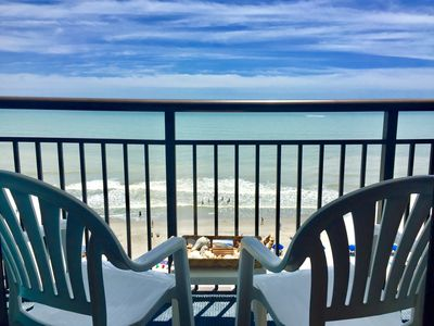Photo for Amazing Oceanfront Studio Suite with Full Kitchen  / Landmark Resort
