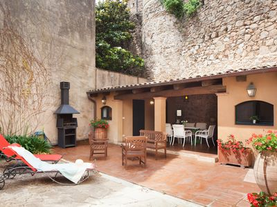 Photo for LUXURY RUSTIC HOUSE with POOL in TOSSA DE MAR