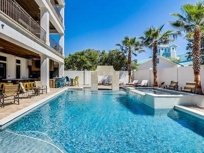 """Photo for """"A Shore Thing"""" - Private Heated Pool! Game Room w/Pool Table - Gulf Views!"""