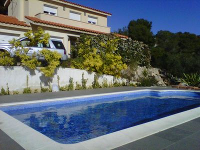 Photo for Casa Bella Vista in mountain with sea views.  Private pool. 6 persons.