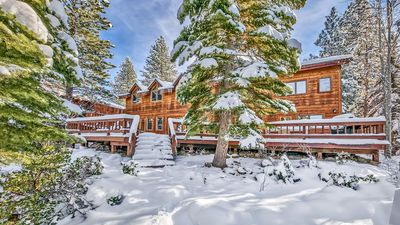 Photo for Amazing 4 Br Log Cabin in Northstar