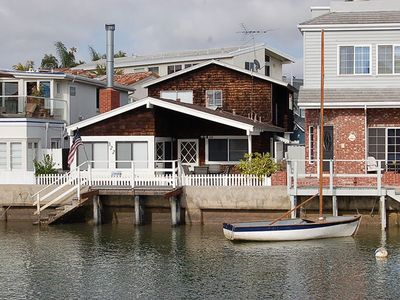 Photo for Balboa Island, Waterfront, Cottage Get Away