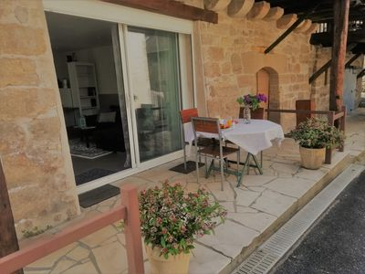 Photo for Lovely appartement very close to communal swimming pool, restaurant/little shop.
